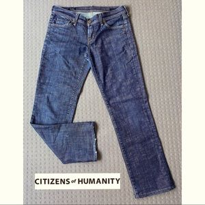 Citizen of Humanity low rise straight jeans W29